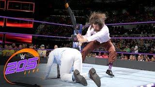 The Brian Kendrick mocks Gentleman Jack Gallagher WWE 205 Live, July 11, 2017