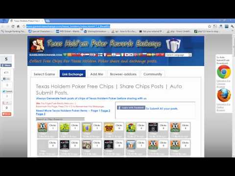Texas HoldEm Poker Free Chips (Unlimited)