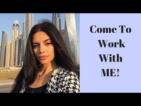 Come to work with me Vlog!