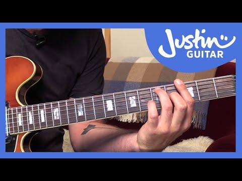 Jazz Standard: Autumn Leaves - Chords (Guitar Lesson JA-520)