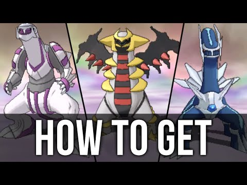 How to get Dialga, Palkia and Giratina in Pokémon Omega Ruby and Alpha Sapphire