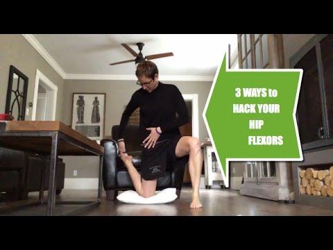 3 Ways to Hack Your Hip Flexor Stretches