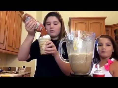 How to make a caramel frappe