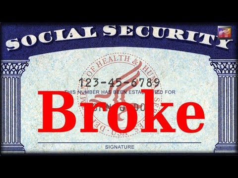 BREAKING: Social Security, Medicare To Go Bust Sooner Than Expected