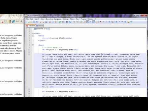 HTML5 Tutorial 5.0 - anchor tag