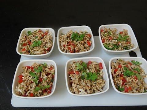 Bhel puri - भेल पूरी कैसे बनाते है - Bhel Puri Recipe in hindi - Tea Time Recipe