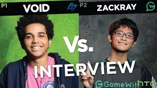 """""""I didn't expect to get this far."""" Void vs. Zackray Interview at Genesis 6 