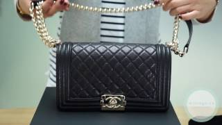 60473be153248 What s in my Chanel Boy Bag  Chanel BOY 2017