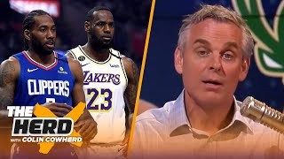 No issue with MJ refusing to play on Dream Team with IT, Colin talks 16-team NBA playoffs | THE HERD