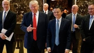 Jack Ma on meeting with Trump: We talked about supporting U.S. small biz
