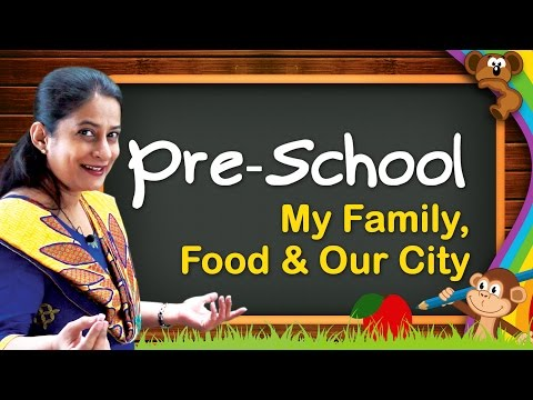Pre School Learning For Kids   My Family, Food, Clothes, Our Home, Vehicles, Our City, Music