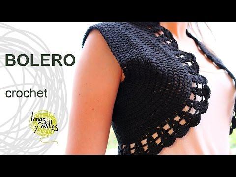 Tutorial Bolero Crochet in English