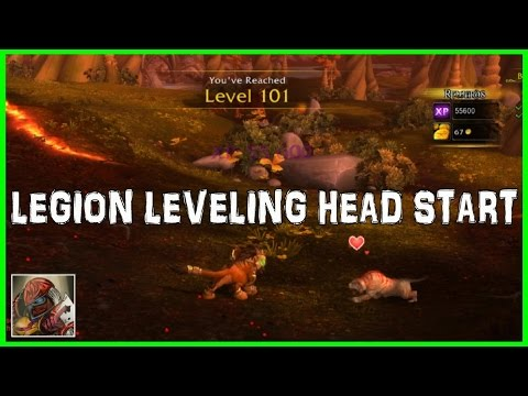 WoW Legion XP Boost Preparation - How to (Possibly) Get a Jump Start on 100-110