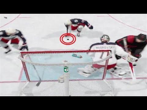 ROMAN JOSI FAIL  (NHL 18 Clips)
