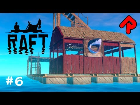 Our Raft gets a PAINT JOB!   Let's play RAFT gameplay 2018 ep 6 (Early Access PC game)