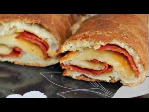 -G.M.T- Pepperoni bread