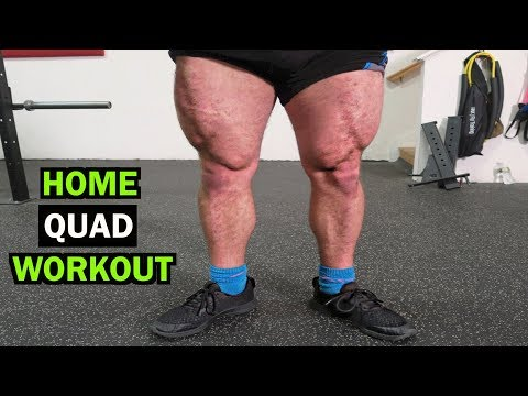 Intense 5 Minute At Home Quad Workout