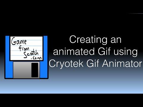 Creating an animated gif using Cyotek Animated Gif Creator