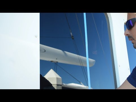 How To Polish and Protect Yacht Glass