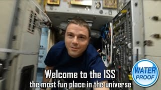 the ISS is waterproof !