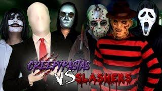 Download Creepypastas vs Slashers. Batalla Final de Rap (Especial Post-Halloween) | Keyblade Video