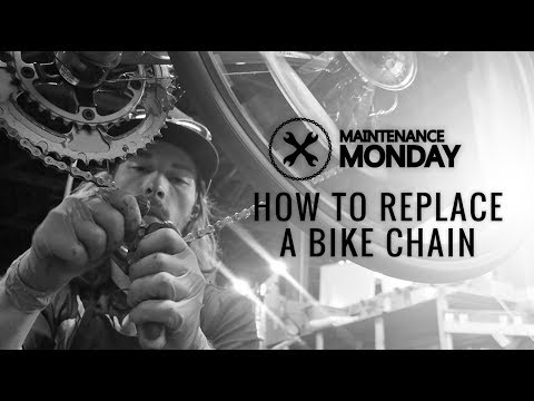 Maintenance Monday | How To Replace A Bike Chain