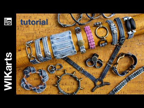 WIKarts Tutorial: How to Make Belt Loop Bracelets, Necklaces, Rings, & More!
