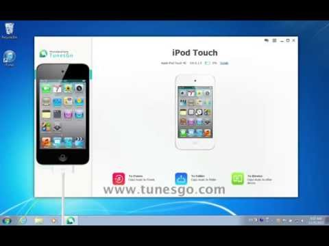 [Wondershare TunesGo]: How to Copy/Sync/Transfer Videos from iPod to iTunes Without iTunes