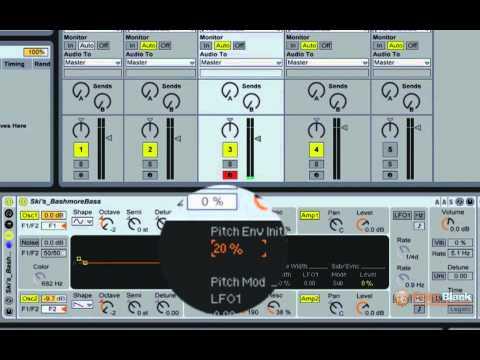 Ableton Live Tutorial - Creating an 808 Kick Deep Bass Sound with Analog