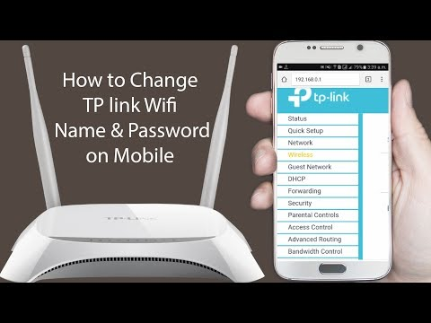☛How to Change TP link Wifi Router Password in Mobile ☛ Change Wifi Password ⇔ AF Tech House