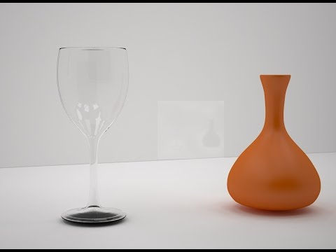 3Ds Max Tutorial : How to make a wine glass and vase in 3ds max