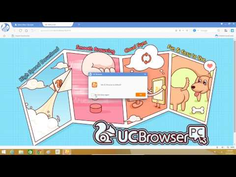 Download & Install UC BROWSER On windows Xp, 7, 8, 8.1, 10