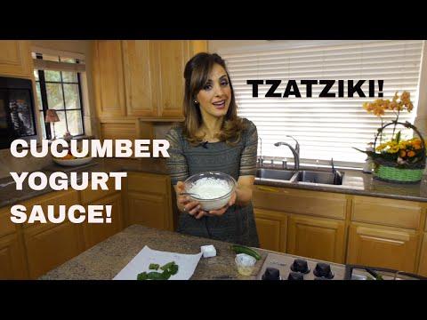 DIP SO GOOD YOU CAN BATHE IN IT!  Arabic/Greek Cucumber Yogurt Sauce