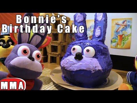 FNAF plush Episode 77 - Bonnie's Birthday Cake