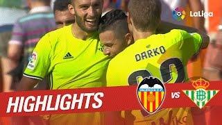 Resumen de Valencia CF vs Real Betis (2-3)