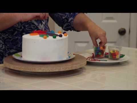 Decorate a Birthday Balloon Cake in Minutes