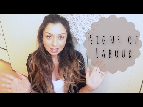 How do I know I'm in Labor? Signs of Labor video!
