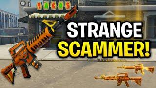 Strange Lying Scammer Scams Himself! (Scammer Get Scammed) Fortnite Save The World