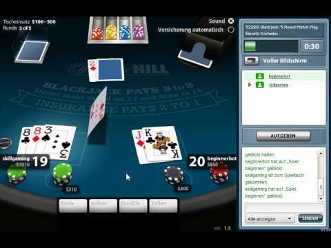 Blackjack - William Hill Skill Games
