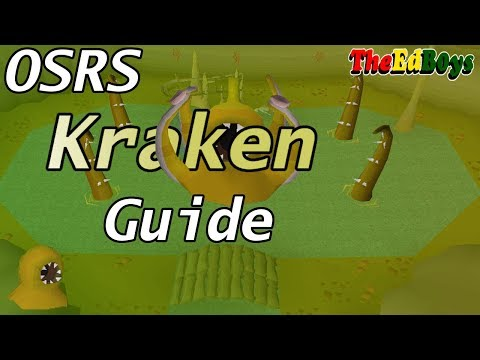 OSRS How I Fight The Kraken | Old School Runescape Kraken