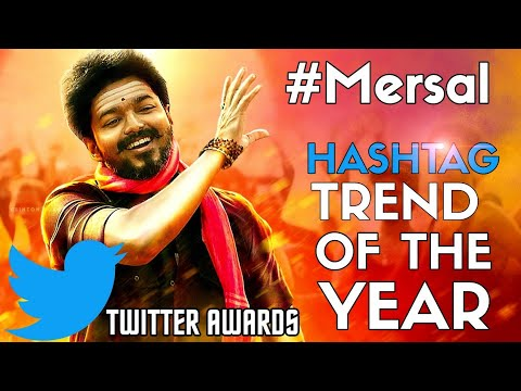 Twitter India Announced #Mersal As The Best Hashtag Trend Of The Year - 1.7 Million Tweets In 3 Days