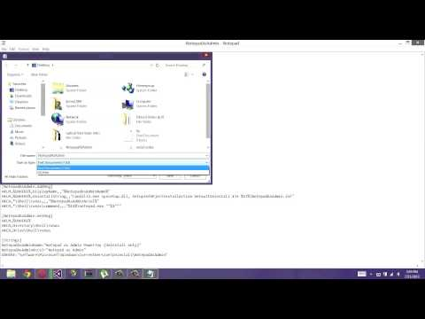 How to open notepad as administrator! (easy)