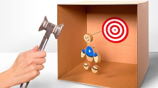 Download DIY KIck the Buddy Game from Cardboard Video
