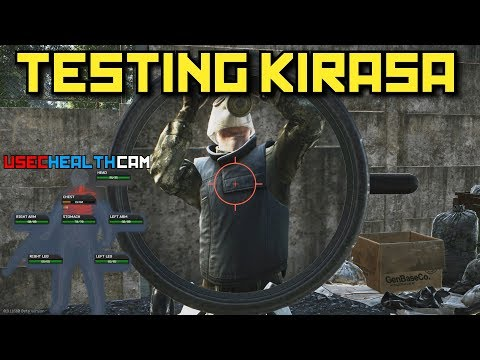 Testing Kirasa Armor With Every Gun! - Escape From Tarkov