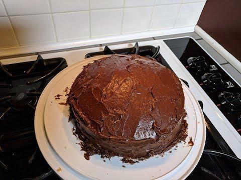 2 Layer Box Cake, NuWave Oven Recipe