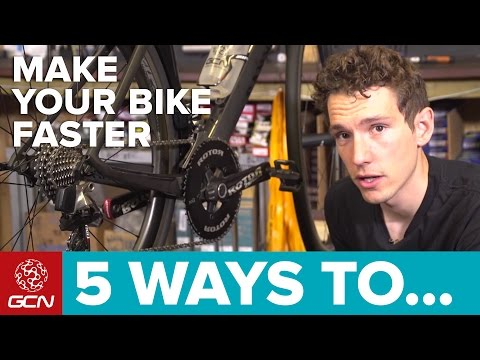 5 Ways To Make Your Road Bike Faster