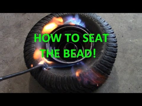 How To Seat The Bead on a Tubeless Tire