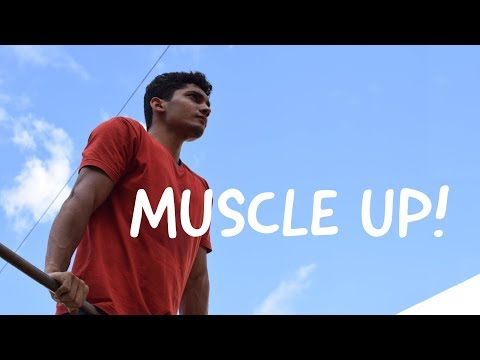 How to Muscle up in 1 minute : Muscleups Tutorial in Hindi