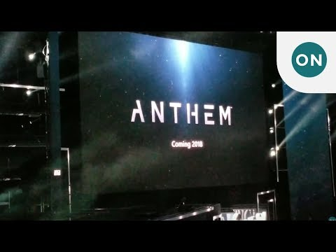 Ea shows off Anthem at Xbox E3 2017 briefing