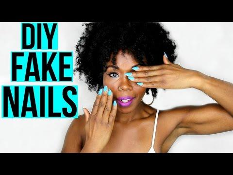 DIY Fake Nails and Nail Gel || How I SLAY My Nails for CHEAP!